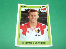 N°110 KENNETH ANDERSSON LILLE OSC LOSC DOGUES PANINI FOOT 94 FOOTBALL 1993-1994
