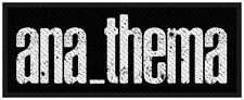 ANATHEMA - Aufnäher Patch Logo 4x10cm