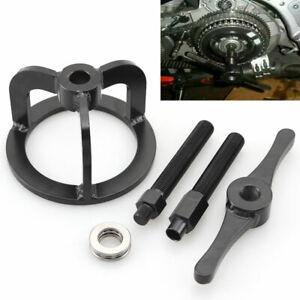 Black Clutch Spring Compressor Compression Tool Kit Fit For Harley XL883 XL1200
