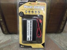 QFX PWR-80 200W Continuous 400W Peak Power POWER INVERTER w/ USB NEW