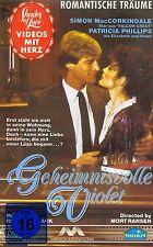 VHS-VIDEOKASSETTE - Geheimnisvolle Violet - Simon MacCorkindale & Joan Heney