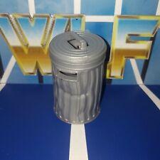 Trash Can & Lid - Mattel - Accessories for WWE Wrestling Figures