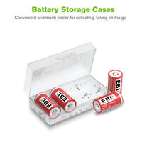 4pcs EBL 15270 CR2  CR15270 400mAh 3.7V Li-Ion Rechargeable Battery