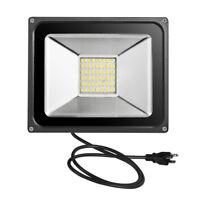 US 50W Warm White Flood Light 110V High Power LED Outdoor Spotlight IP65 SMD