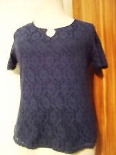 "Nachtblaues Marken T-Shirt,,CANDA""Gr.44/Neuw."