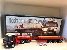 MB Actros mit Nooteboom 3 XL Teletrailer MAMMOET von Conrad 66139 1:50 OVP