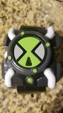 2006 Bandai Ben 10 Omnitrix FX Watch Deluxe Toy Sounds And Lights, New Battery