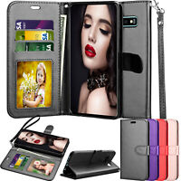 For Samsung Galaxy S9/S7/S8/S10 Plus Case Wallet Leather Flip Stand Holder Cover