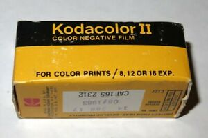 1 Unopened Box KODAK KODACOLOR II C127 Camera Film NOS Exp 8/1983