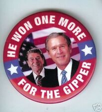Ronald REAGAN Gipper + BUSH INAUGURATION 2004 pin