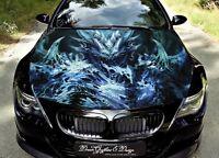 Devil Dragon Car Bonnet Wrap Decal Full Color Graphics Vinyl Sticker #212