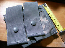 NEW Military MOLLE II 40mm ACU Camouflage Dual Pocket Pouch