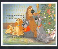 Grenada Grenadines 1988 Disney/Perros/películas/cine/Animación/Caricatura 1v m/s d00224