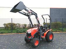 Kubota Trecker mit Frontlader B2650 Schlepper Traktor 26PS Kleintraktor Papiere
