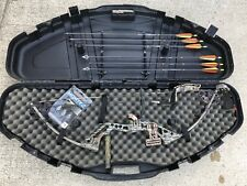 Hca 4 Runner Compound Bow with Arrows and Montec tips - 2 sights
