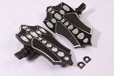 FRONT FOOTPEGS FOOTBOARDS FLOORBOARDS PEGS BOARDS FOOTREST Harley 04-10 Big Dog