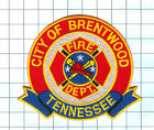 Fire Patch - City of Brentwood Tennessee