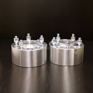 """2pc 3"""" Wheel Spacers   5x4.75 to 5x4.75   Hubcentric for Chevy 70.5   12x1.5"""