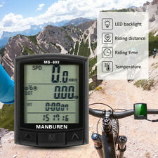 Wireless Bike Computer Backlight Bicycle Speedometer MTB Road Cycling Odometer