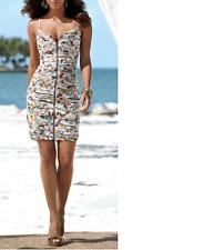 Gorgeous $180 Boston Proper Floral Zipper Summer Dress, sz.12, NEW