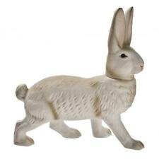Marolin Paper Mache Easter Bunny Candy Container.White Standing