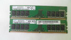 SAMSUNG 2 x 8GB 1Rx8 PC4-2666V  M378A1K43DB2-CTD