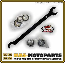 STEERING STEM HEAD BEARING SET + SEALS AND TOOL FOR YAMAHA YZ250F 2001 to 2012