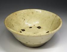 Korean Joseon Dynasty Tea Bowl / W 11.5× H 5[cm]  Pot Plate