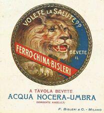 W3176 Ferro China BISLERI - Pubblicità 1925 - Advertising