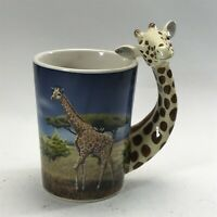 Collectable Giraffe Handled Mug <HM04 (T45)