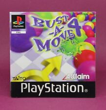 INSTRUCTION BOOKLET/MANUAL ONLY FOR BUST-A-MOVE 4 PS1 (NO GAME) 😎OZ SELLER😎