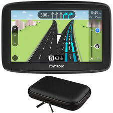 "TomTom VIA 1625M 6"" Touchscreen GPS Navigation Device Lifetime Maps w/ Hardshell"