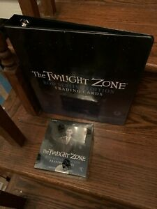 One Rittenhouse The Twilight Zone Rod Serling Trading Card Box + P3 Binder Album