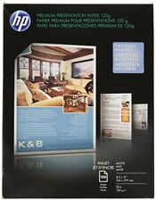 HP Premium Presentation Paper for Inkjet Printer, Matte, 8.5x11, 100 Sheets