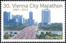 Autriche 2013 Vienne, 30th Marathon/Course/Sports/pont/bâtiments 1 V (at1180)