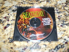 Deathday 1000's of New Levels for Doom & Doom II (PC, 1995) Program