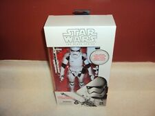 """STAR WARS ORDER STORMTROOPER WHITE BOX FIRST EDITION BLACK SERIES 6"""" FIGURE NEW"""
