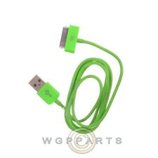 Apple iPhone 4/i4S Data Cable Green Cover Shell Protector Guard Shield Case