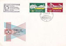 Switzerland 1967 ITMA FDC Unadressed VGC