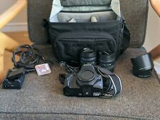 Olympus EVOLT E-620 12.3MP Digital SLR Camera - Bag + Lenses