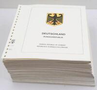 Bundesrepublik 1972 bis 2002 Lindner-T-Blätter komplett + postfrische Sammlung