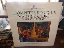 Maurice André  - marie claire Alain :  trompette et orgue - erato STU 70595