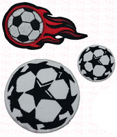 Soccer ball  iron on patch badge Football sports embroidered emoji applique
