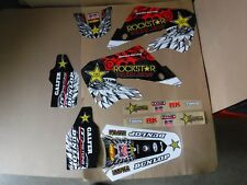 TEAM HONDA ROCKSTAR GRAPHICS 98 99  CR125 CR125R & 1997 1998 99 CR250R CR250 PTS