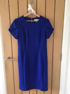 NEW Ronni Nicole Blue Fitted Dress - Size 12