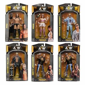 AEW Unrivaled Figures - Jazwares - Brand New - Sealed -