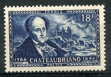 STAMP / TIMBRE FRANCE NEUF N° 816 ** CELEBRITE // CHATEAUBRIAND