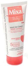 Mixa Baby Infant Multi Comfort Face & Body Soothing Cream Diaper Rash 100ml