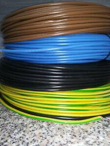 H07V-K 10mm² Aderleitungen  flexibel Meterware!! Farbe nach Wahl!