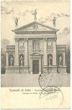 TRAMONTI DI SOTTO - FACCIATA ERIGENDA CHIESA (PORDENONE) 1930